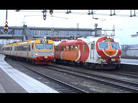 ► Tåg i / Trainspotting in Nässjö, Sweden [10.11.14] MVAB, Hectorrail, Green Cargo