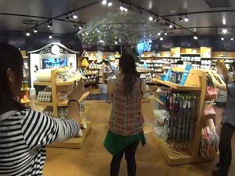 Exploring the Disney Store in Kyoto Japan