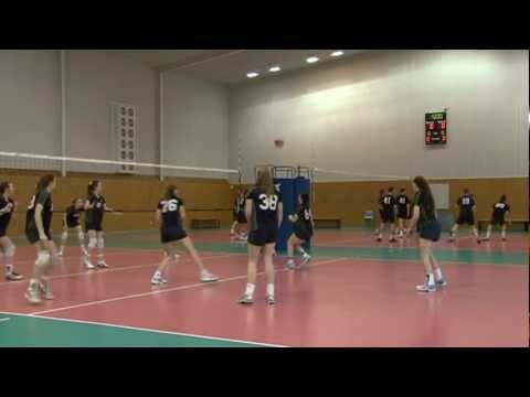 Volleyball at Brighton Secondary School