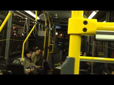 Insane ttc bus driver