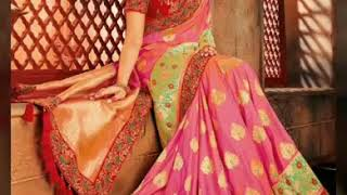 Party wear Saree collection for women // beautiful and gorgeous