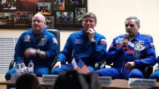 Пресс-конференция экипажей «Союз ТМА-16М»