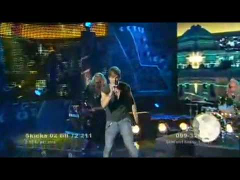 Jonathan Fagerlund Welcome To My Life Melodifestivalen 2009