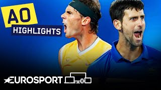 Novak Djokovic vs Rafael Nadal Highlights | Australian Open 2019 Final | Eurosport