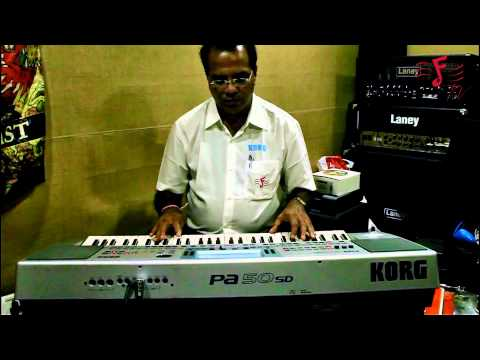 KORG PA 50 - New Indian Style Banks - Demo and How To Load