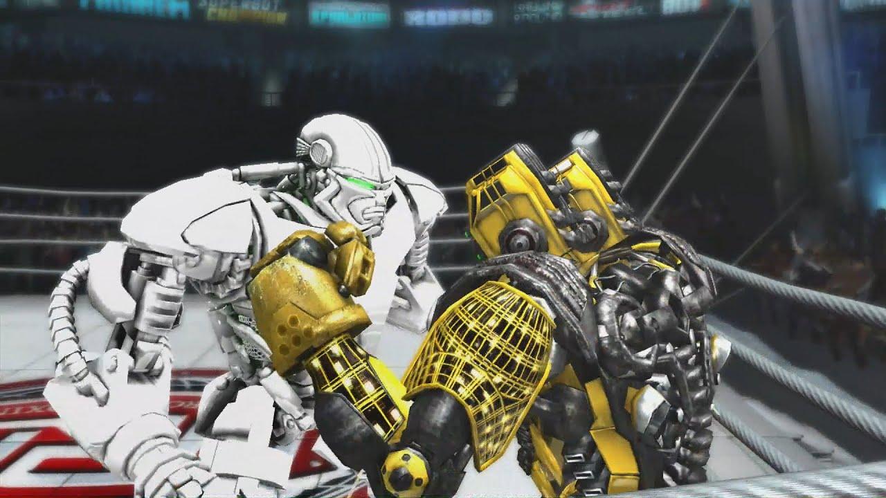 REAL STEEL THE VIDEO GAME - ZEUS vs TWIN CITIES