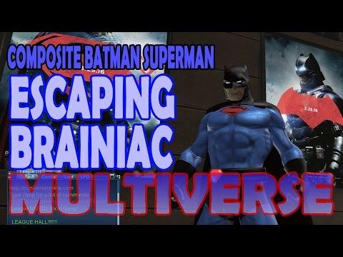 Composite Batman Superman; Part 01 Escaping Brainiac