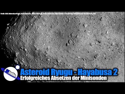 Asteroid Ryugu: Hayabusa 2 - MINERVA-II Rover sind gelandet