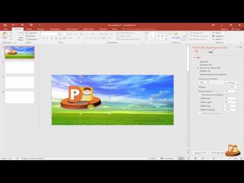 Powerpoint เทคนิค  5. การใส่รูปและเปลี่ยนพื้นหลัง