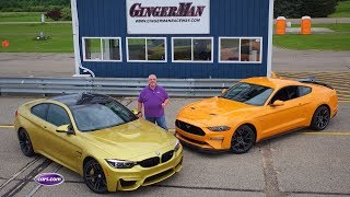 2018 BMW M4 Vs. 2018 Ford Mustang GT PP2 — Cars.com