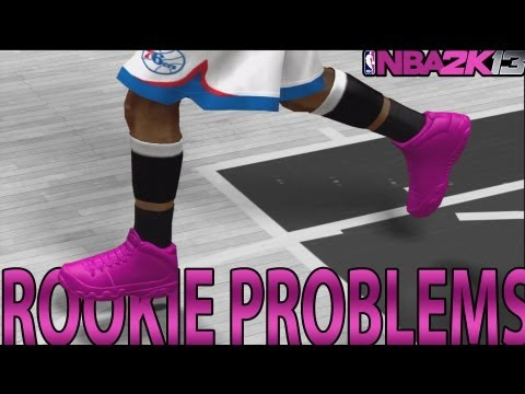 NBA 2K13 MyCAREER - First Game Starting | Rookie Problems Ft Andre Johnson