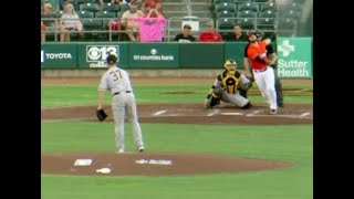 Joey Bart Shows Off on Both Sides of the Ball for Sacramento (6-18)