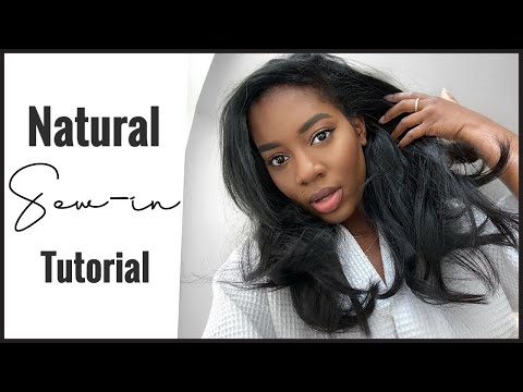 My Natural Sew-in Tutorial | *EASY *