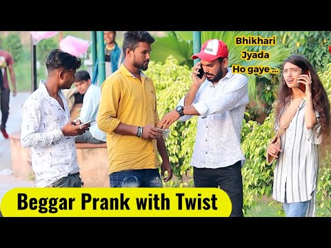 Beggar Prank with Twist | Bhasad News FT. Prank Rush