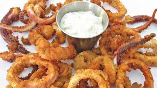 Calamari - Italian Seasoned and Fried