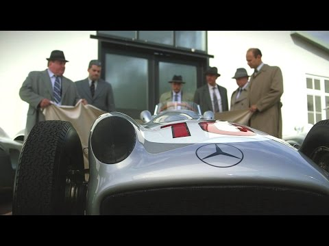 Magical moments of the Mercedes-Benz Silver Arrows - Mercede