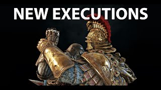 For Honor Year 4 Season 1  New Executions.Новые Добивания 10.31.2019
