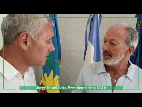 Reunión de la DAIA con el intendente de Berisso