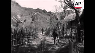 ກອງທັພລາວນຳລ່າຄອມມິວນິສຕ໌ແນວລາວ  Laos Forces Hunt Communists 17 3 1968