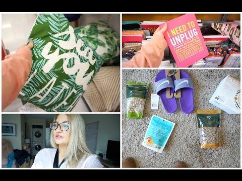 Vlog: SUNDAY SHOPPING + I HAVE THE FLU