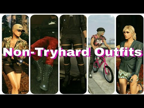 GTA 5 Online | HUGE OUTFIT VIDEO | Non-Tryhard outfits (PART 1) - YouTube