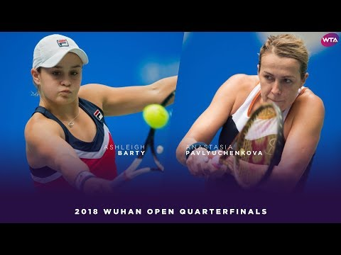 Ashleigh Barty vs. Anastasia Pavlyuchenkova | 2018 Wuhan Open Quarterfinal | WTA Highlights 武汉网球公开赛