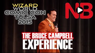 The Bruce Campbell Experience at Wizard World Comic Con Tulsa 2015