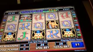 Cleopatra 2 Bonus (High Limit) at Aria ALL ON FREE PLAY