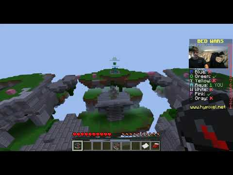 Minecraft Hypixel Bed Wars With Background Music Youtube
