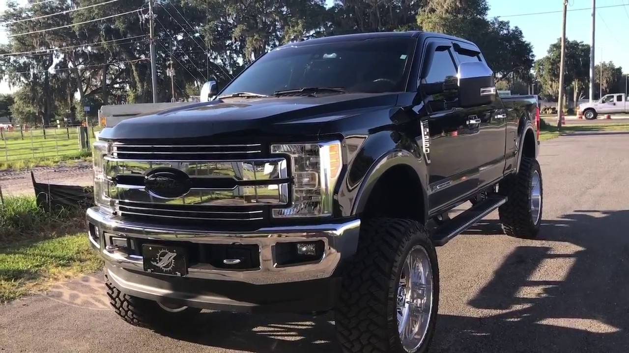 2017 Ford F-250 lifted 8 inches update video - YouTube