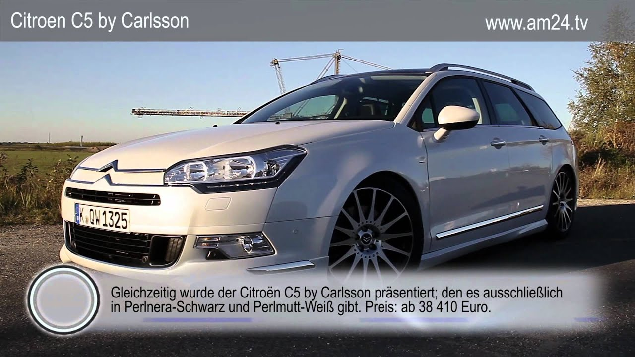 citroen c5 carlsson on youtube. Black Bedroom Furniture Sets. Home Design Ideas