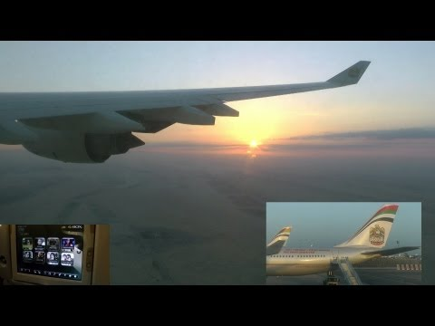 Trip Report - Etihad Airways - Frankfurt to Abu Dhabi to Phuket