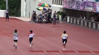 Publication Date: 2019-09-12   Video Title: 何哲晞~第四線紅社 (男子丙組 100米)