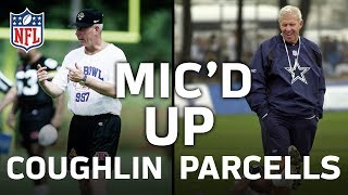 Tom Coughlin and Bill Parcells Mic'd Up at Training Camp | NFL