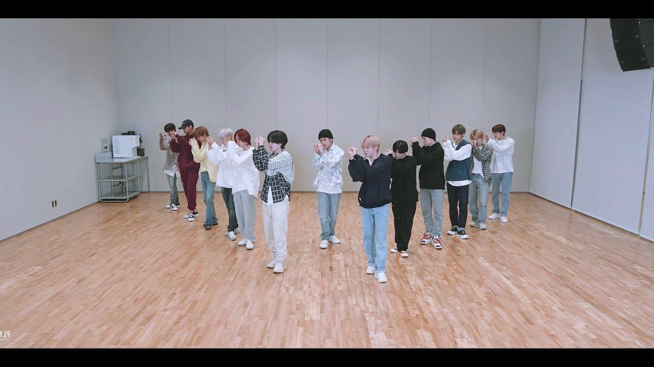 세븐틴(SEVENTEEN) -  ひとりじゃない (Not Alone) 히토리쟈나이 안무 거울모드 (Dance Practice Mirrored) Choreography Video