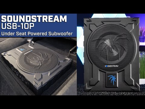 Soundstream USB-10P Under Seat Subwoofer - Audio Playback