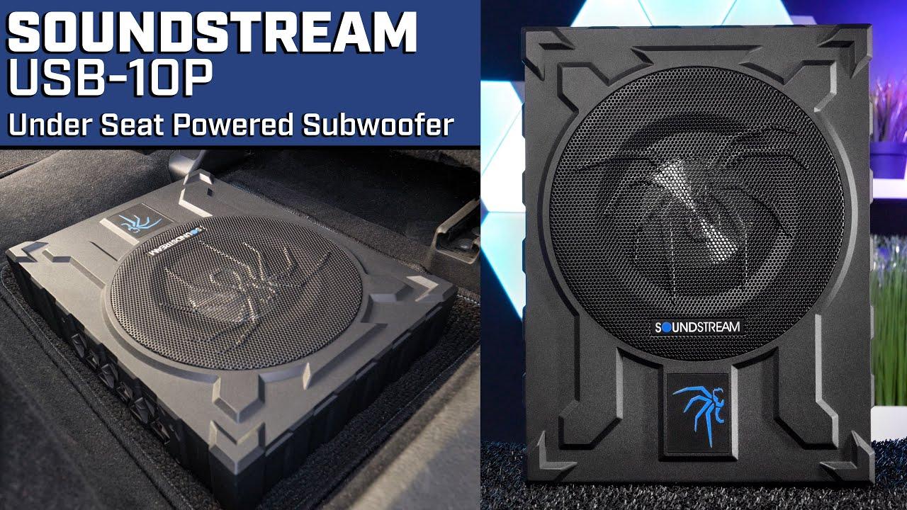 Download Soundstream USB-10P Under Seat Subwoofer - Audio Playback
