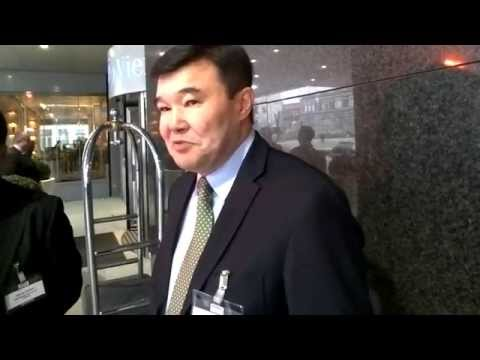 CI Interviews Tsesna Bank Managing Director Kairat Rakhmanov at Euromoney Vienna. Jan. 20, 2015