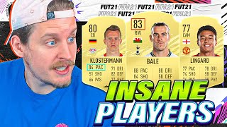 THE MOST INSANE FIFA 21 CARDS!
