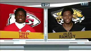 Tyreek Hill vs Jalen Ramsey (2018) | WR vs CB Matchup