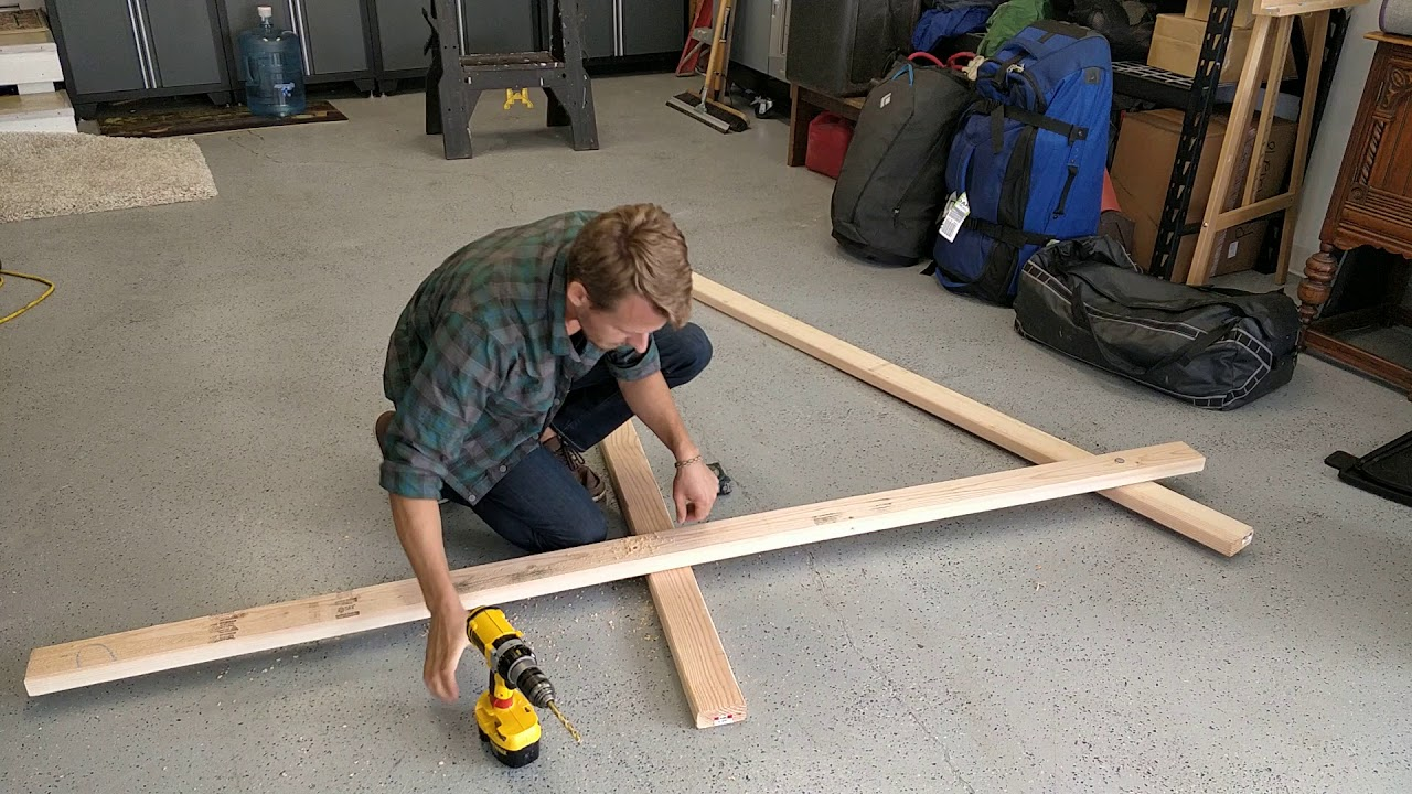 How to Build a Slackline Hang Frame (detailed version) - YouTube