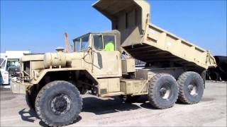 1971 Jeep M817 five ton dump truck for sale | sold at auction April 10, 2014