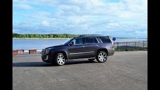 Cadillac Escalade на Золотом кольце России