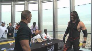 MBC Action - FIGHT BREAKS OUT ON BURJ KHALIFA - CENA VS KANE