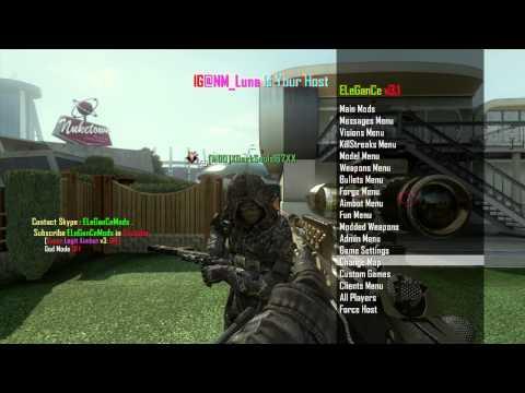 Black Ops 2 Mod Menu Gameplay (Live Stream)