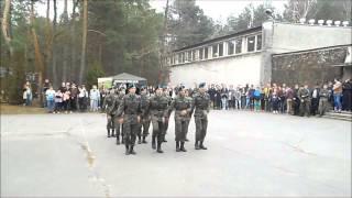 Pokaz musztry paradnej - dzień otwarty w LO w Komornicy