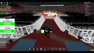 Roblox wwe 2k18 fun!