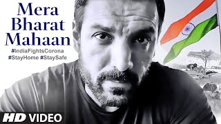 Mera Bharat Mahaan | John Abraham | India Fights Corona | Stay Home | Stay Safe|T-Series