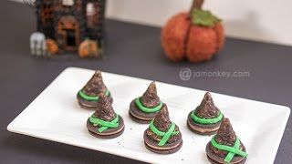 Witch Hat Cookies - Halloween Party food - Dixie Crystals