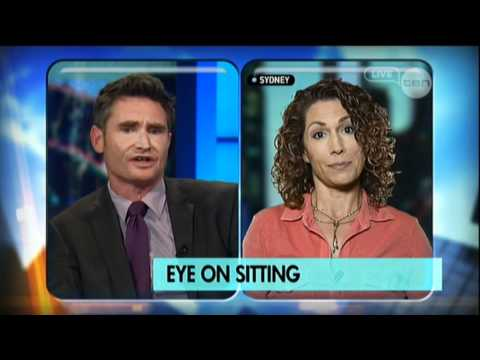 Kitty Flanagan on sitting - The Project